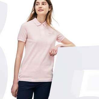1a9b7c99e1abcd Lacoste Women s Limited Edition 85th Anniversary Classic Fit Wool Pique Polo