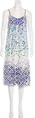 Twelfth Street By Cynthia Vincent Silk-Blend Dress