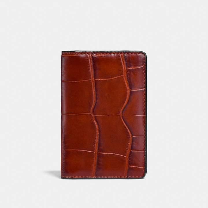 Coach Card Wallet - TERRACOTTA - STYLE