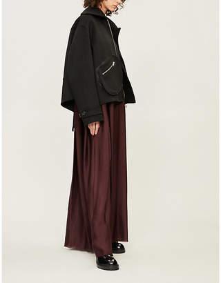 Yang Li Oversized wool jacket