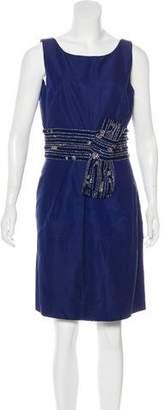 Lela Rose Silk-Blend Dress w/ Tags