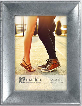 "Malden 5"" x 7"" Galvanized Metal Picture Frame"