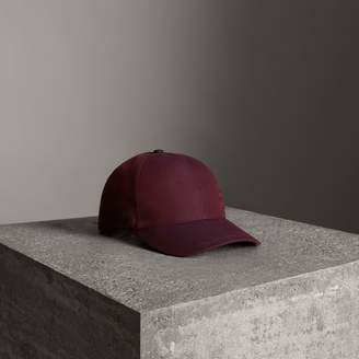 Burberry Archive Logo Baseball Cap , Size: S/M, Purple