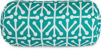 Majestic Home Goods Aruba Indoor Outdoor Decorative Bolster Pillow