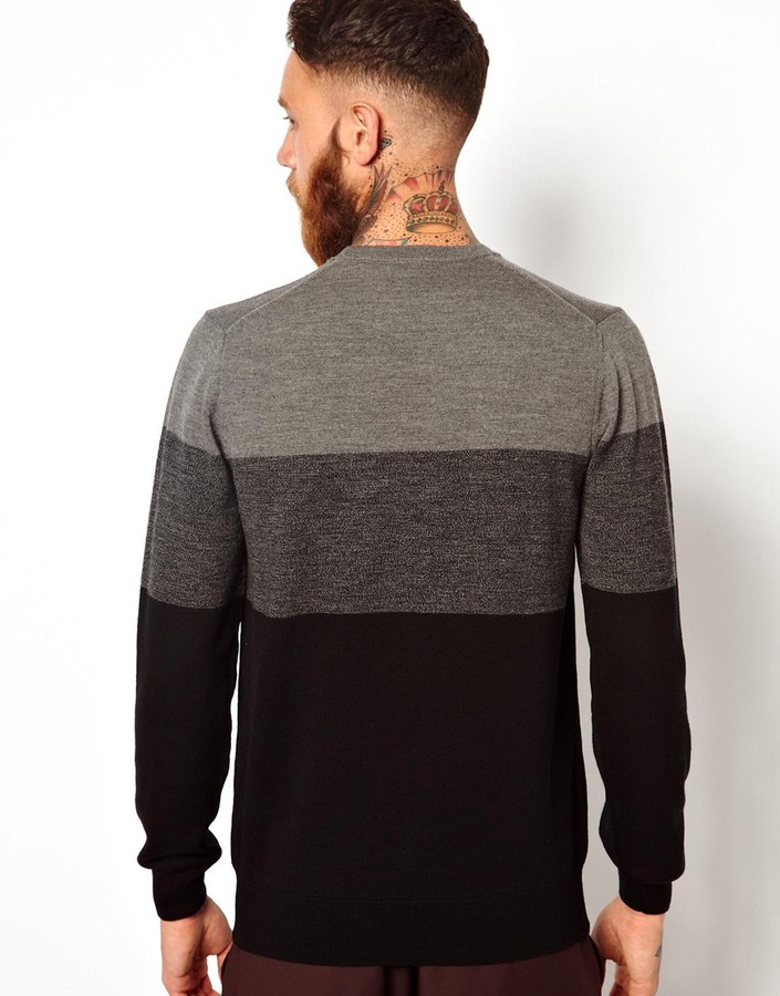 Paul Smith Sweater with Color Block