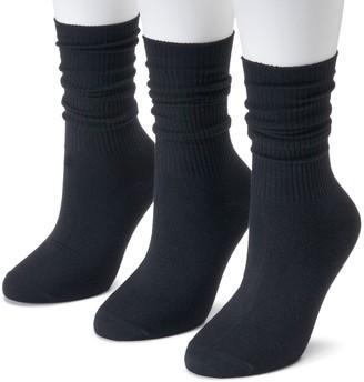 Sonoma Goods For Life Women's SONOMA Goods for Life 3-pk. Soft & Comfortable Slouchy Boyfriend Socks