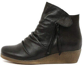 New Effegie Ensoni W Black Womens Shoes Comfort Boots Ankle