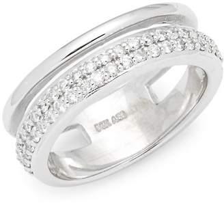 Saks Fifth Avenue Women's White Gold & Diamond Ring