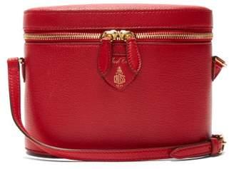Mark Cross Ginny Goatskin Leather Cross Body Bag - Womens - Red