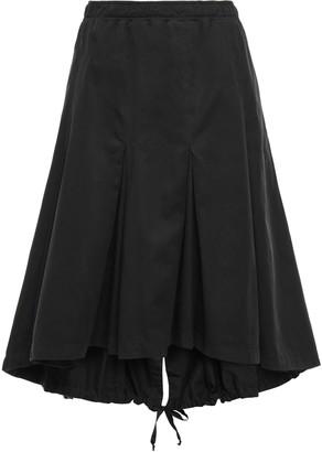 Clu Pleated Cotton Skirt
