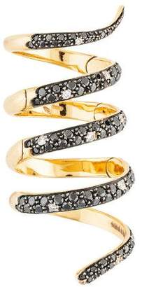 Fratelli Staurino 18K Diamond Cocktail Ring