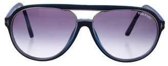 Tom Ford Sergio Aviator Sunglasses