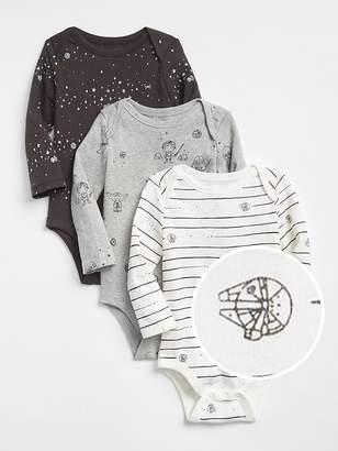 Gap babyGap | Star Wars First Favorite Bodysuit (3-Pack)