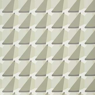 west elm Mid-Century Sliced Geo Wallpaper Swatch