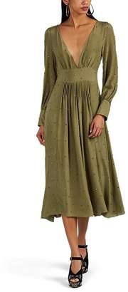 Azeeza Women's Tori Embellished Silk Cocktail Dress