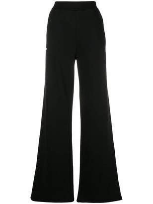 MSGM flared track trousers