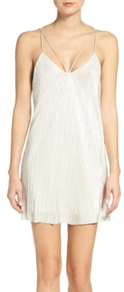 Women's Bardot Layla Pleat Slipdress $89 thestylecure.com