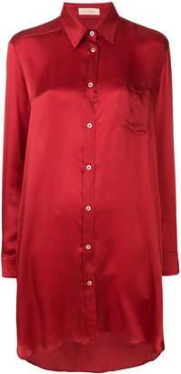 Wunderkind chest pocket shirt dress