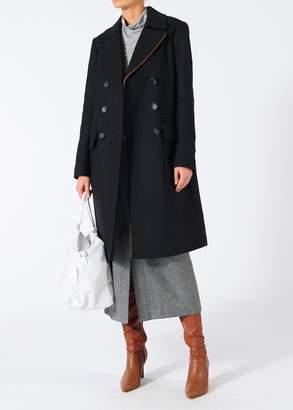Tibi Felted Wool Overcoat