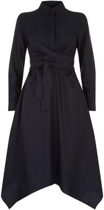 AllSaints Flyn Ruched Dress