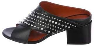 3.1 Phillip Lim Leather Slide Sandals