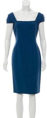 Michael Kors Wool-Blend Knee-Length Dress