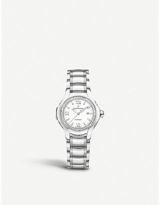 CARL F BUCHERER 00.10580.08.23.31.02 Pathos Diva stainless steel diamonds and sapphire crystal watch