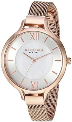 Kenneth Cole New York Women's Quartz Stainless Steel Casual Watch