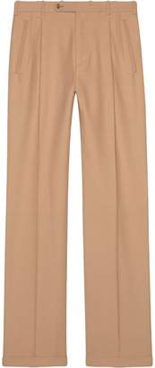 Gucci Long wool trousers