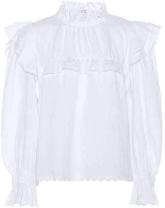 Etoile Isabel Marant Isabel Marant, étoile Ted ruffled linen blouse