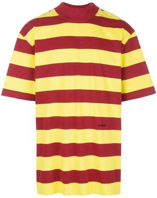 Calvin Klein striped oversized T-shirt