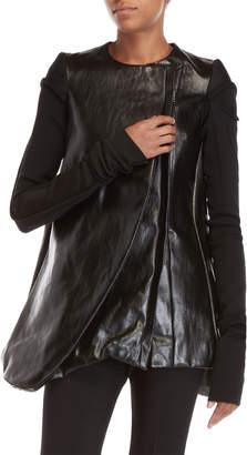 Rick Owens Black Winter Heron Jacket