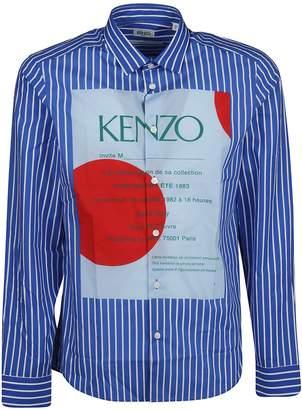 Kenzo Striped 'wedding Invitation' Shirt