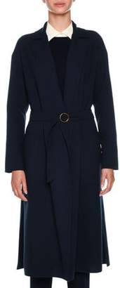 Agnona Double Wool Crepe Timeless Coat
