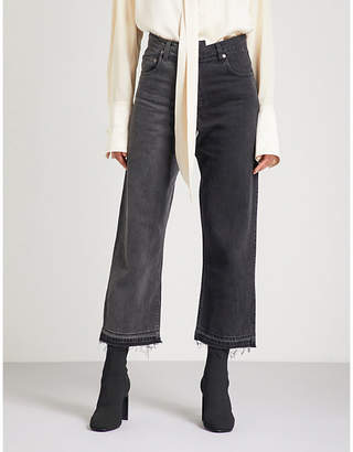 Monse Deconstructed regular-fit straight jeans