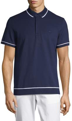 Lacoste Short-Sleeve Cotton Polo