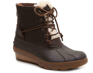 Sperry Saltwater Wedge Duck Boot - Women's
