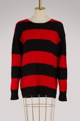 Miu Miu Mohair striped sweater