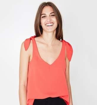 Promod Tie-shoulder top