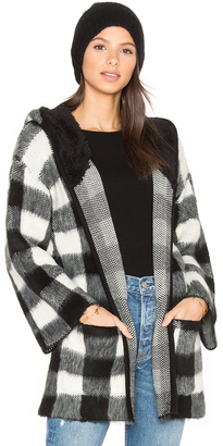 Obey Faux Sherpa Flynt Wrap $99 thestylecure.com