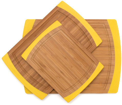 Lipper Cutting Board Set Of 3 Yellow