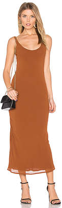 Line & Dot Rima Bias Maxi Dress in Brown $87 thestylecure.com