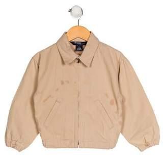 Polo Ralph Lauren Boys' Boys Light-Weight Zip-Up Jacket