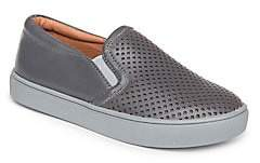Venettini Kid's Perforated Leather Sneakers