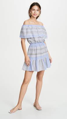 Lemlem Amira Off Shoulder Ruffle Dress