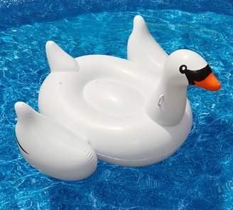 Pottery Barn Giant Swan Pool Float