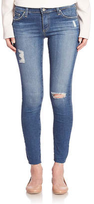 AG Jeans Adriano Goldschmied Distressed Legging Ankle Pant