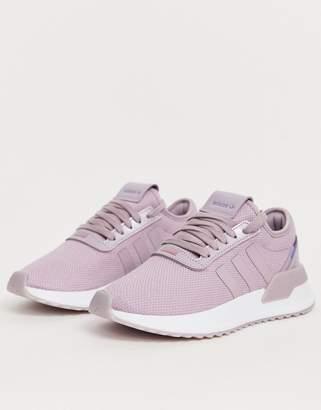 adidas U Path Run trainer in lilac