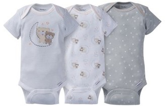 33eecaebcdff Gerber Newborn Baby Boy or Girl Unisex Assorted Short Sleeve Onesies  Bodysuits