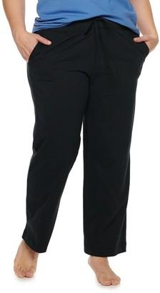 Jockey Plus Size Everyday Essentials Pajama Pants